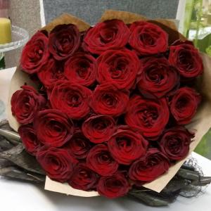 Букет цветов Розы 25 шт.