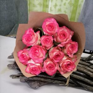 Букет цветов Розы  Джумилия 11 шт.