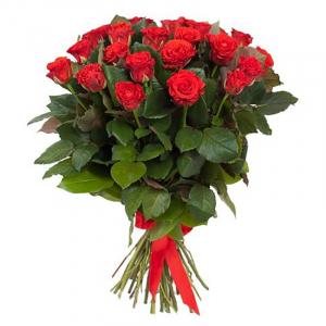 Букет цветов Роза Эль Торо 60 см 25 шт.